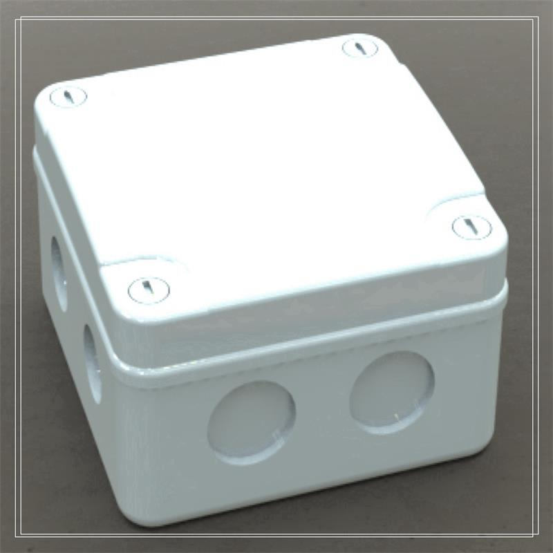 Square Plastic case housing for Set Top Box