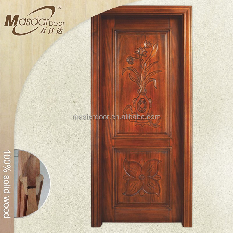 Door flower for Single door design