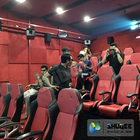Yellow Color 3D Movie 4D Motion Ride Home Theater Cinema