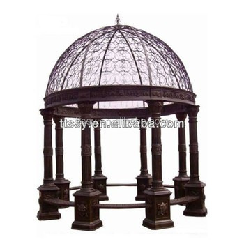 garden round metal iron gazebo buy garden round metal gazebo metal iron decorative gazebo. Black Bedroom Furniture Sets. Home Design Ideas