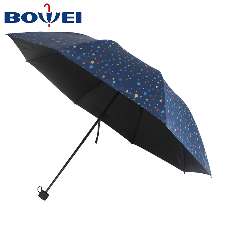 2020 Factory production optimum design cheap promotional fashion folding umbrella