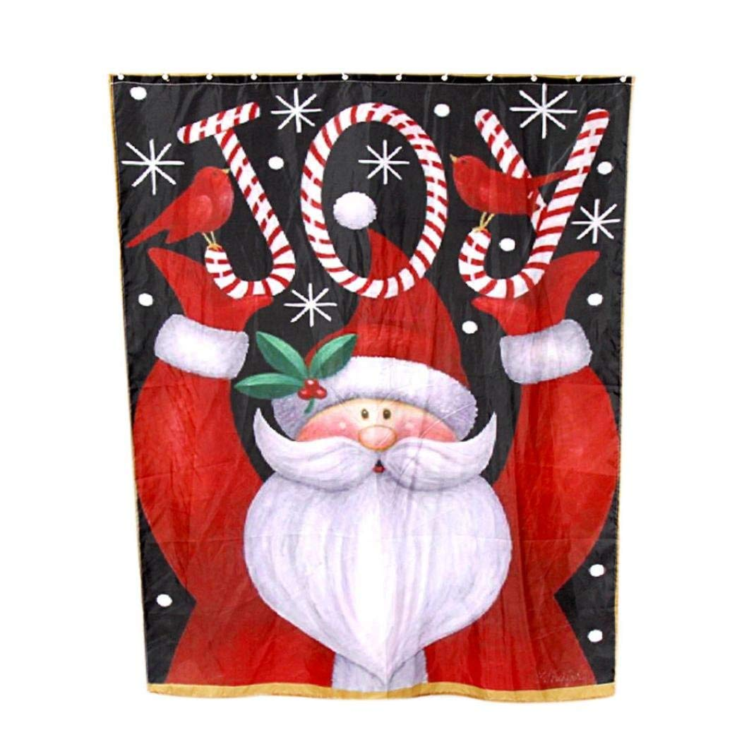 Colorful Tm Custom Merry Christmas Fabric Waterproof