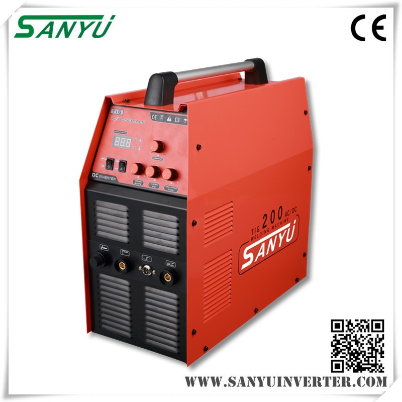 Sanyu 2017 New TIG-200 AC DC Welding Machines for aluminum