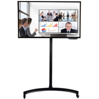 Portable 55 inch Touch Screen Monitors Multi touch screen display interactive smart panel TV