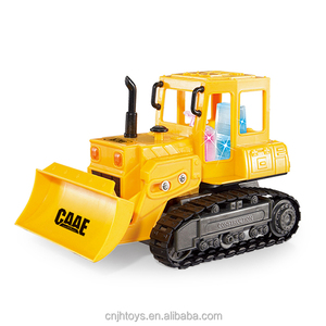 Electric Engineering Toys 1:36 4CH Wire Control Chain Bulldozer Caterpillar Small Trucks for Sale
