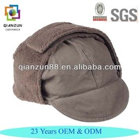 German Army Winter Hats With Ear Warmers