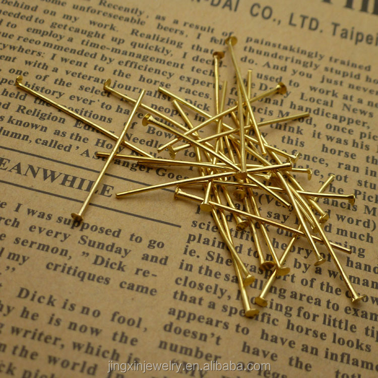 300 x Silver Plated EYEPINS 30mm 0.7mm Gauge Jewellery Making Findings