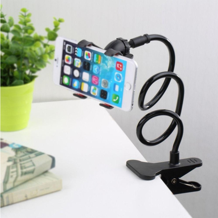 360 Rotating Flexible Long Arms Mobile Phone Holder Desktop Bed Lazy Bracket Mobile Stand Support