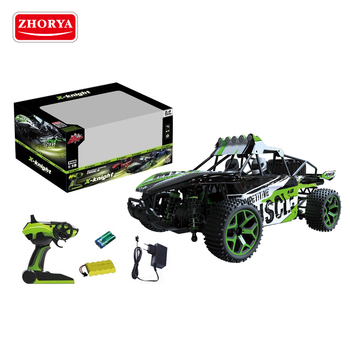 Shantou Zhorya 2.4GHZ 4wd 1:18 scale high speed battery rechargeable rc remote control suv race buggy car toy for children