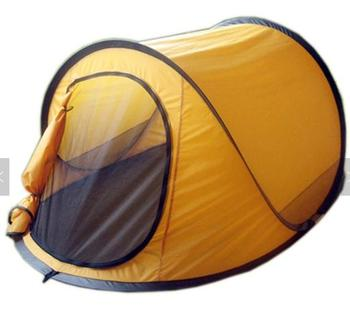 Custom 2 second pop up beach tent for 1-2 persons camping