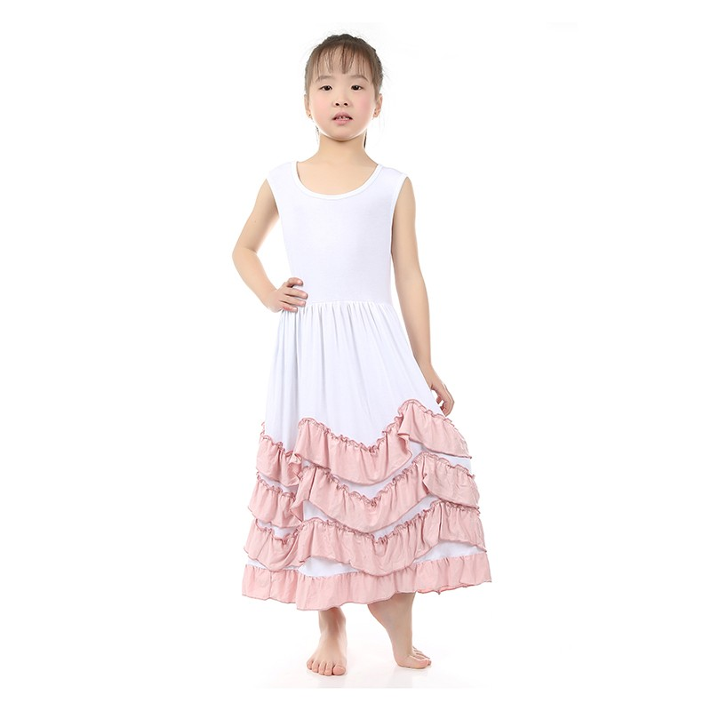 Girl Party Wear Western Dressbaby Cotton Frock Design Ball