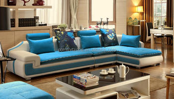 Italian Modern Fabric Corner Sofa