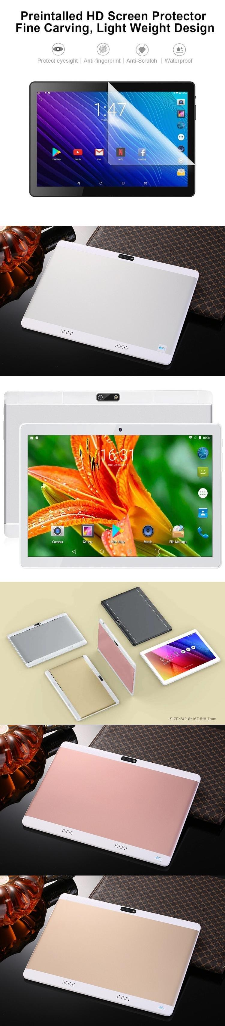 Pretty design wifi tablet 10 inch white label for bulk material