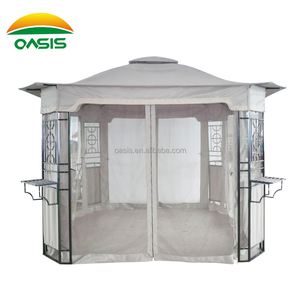 Metal frame gazebos for sale home gazebos pavilion LZ-I3403