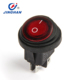 KCD1 waterproof IP67 round rocker switch t85 4 pins 12v LED on/off switch t125