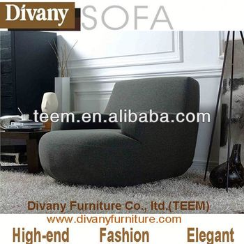 Modern Hotel Furniture Top Leather Sofa