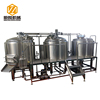500L three vessel brewhouse beer brewing making machine