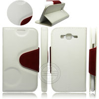 stylish white leather phone cases flip cover for samsung galaxy s3 i9300