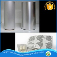 Pharmaceutical Grade PTP Aluminum Foil Pill Blister Packaging