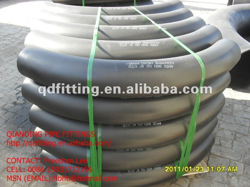 asme b 16.49 carbon steel seamless bw hot bend