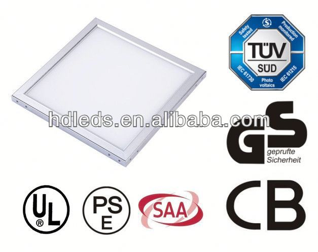 TUV GS SAA UL Approved 2835 3014 full spectrum led grow panel 2012 with 3 years warranty