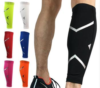 2019 Breathable sports calf shin custom leg compression sleeve