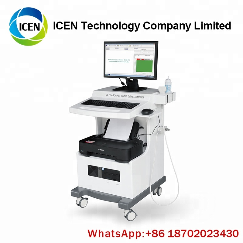 IN-BA5 Hospital Laptop Automatic Ultrasound Bone Densitometer BMD Machine