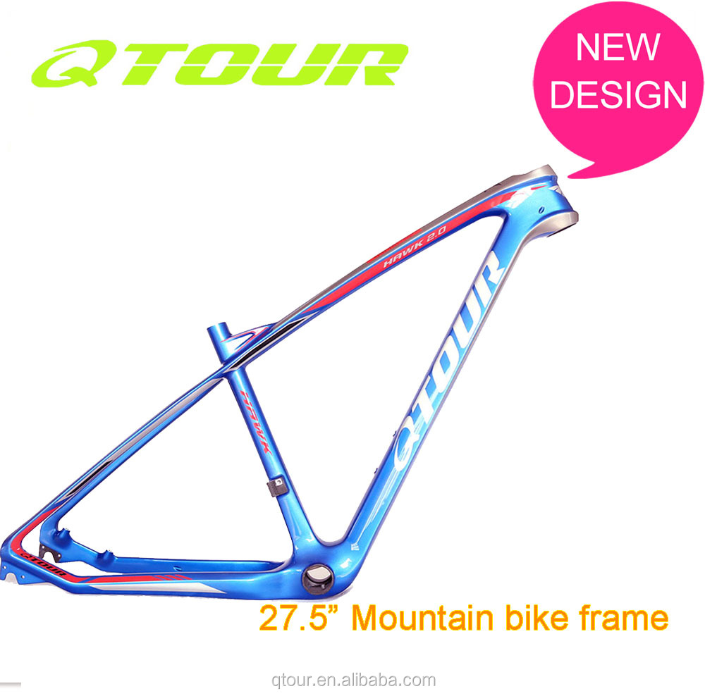 Top Quality And Good Price Mtb 27.5Er Carbon Bicycle Frame Disc Brake Frame Downhill bikeframe fat bicycle