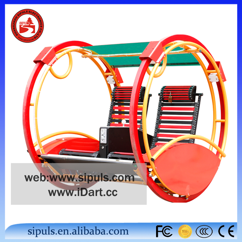 High Quality fine metal kids happy ride great fun balance wheel for entertainment