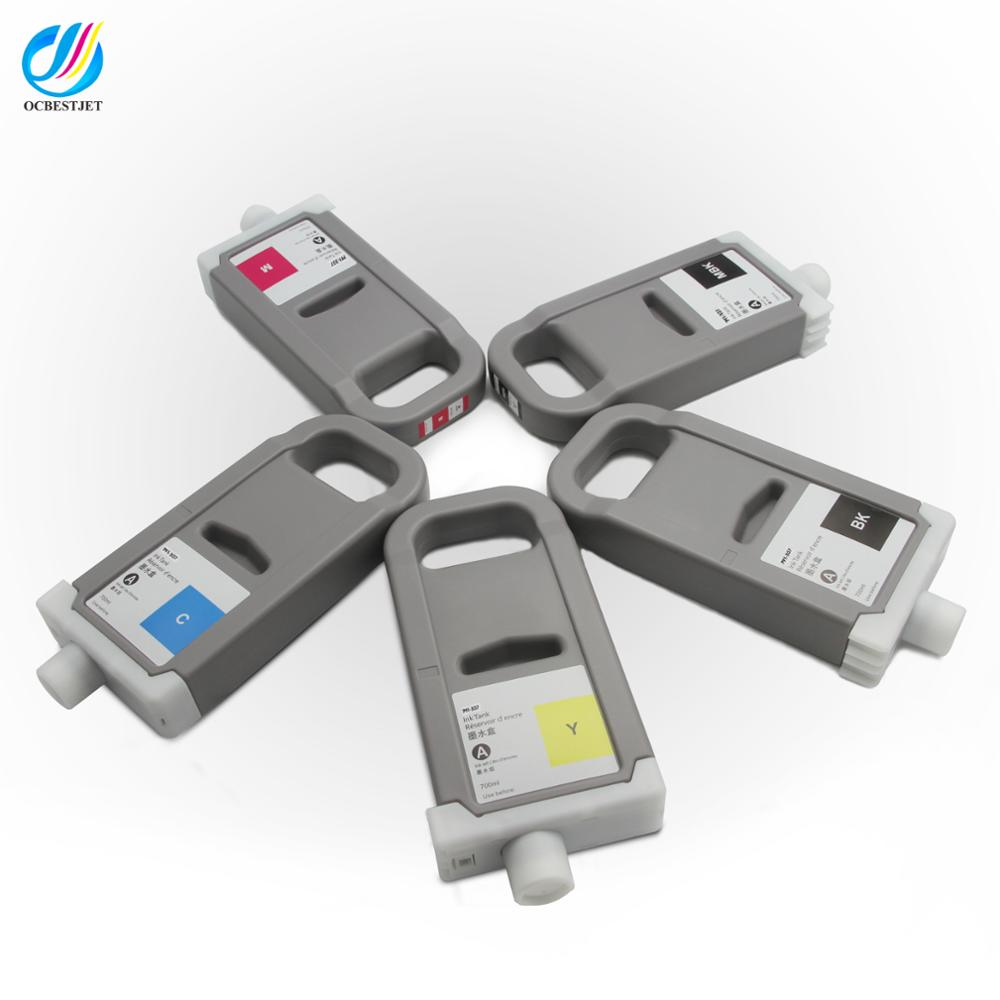 WF PFI-704 Red 700ml Ink Cartridge Compatible for Canon Printer iPF 8300S 8300