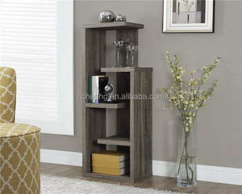 Living Room Free Standing Wooden Display Shelving Wall Units Product On