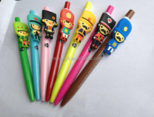 hot sale low price novelty cartoon character plastic ballpoint pen