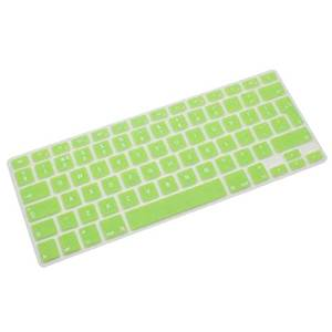 New Fashion Accessory Protector Silicone UK EU Keyboard Cover Skin For Macbook Air Pro Retina 13 15 17 Green