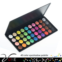 private label eyeshadow palette 40 color assorted colors create your own brand