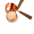 amazon hot selling new product 4pcs measuring cup rose gold plating measuring cups set