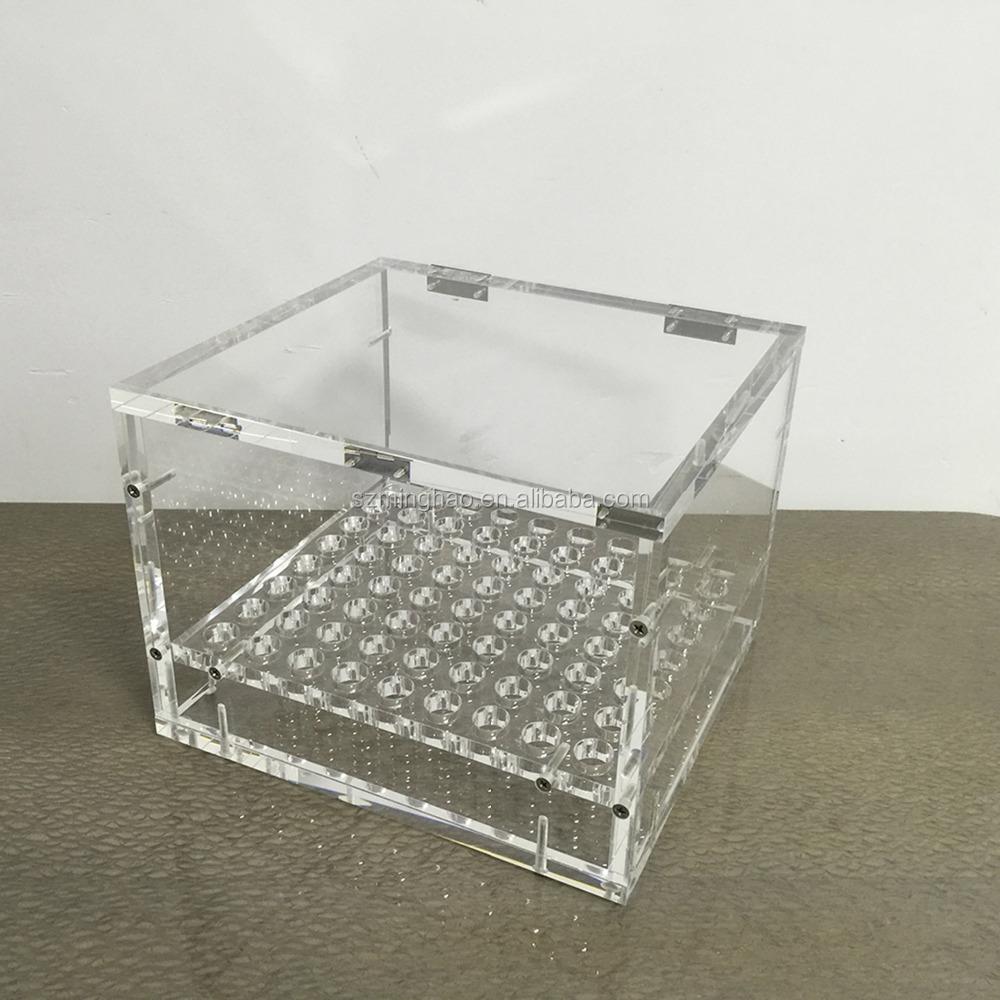 Elegant Clear Plexiglass Storage Box Acrylic Clear Flower Box   Buy Clear Plastic  Flower Box,Small Acrylic Storage Box,Acrylic Flower Box Product On  Alibaba.com