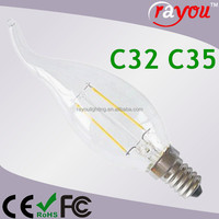 China Made 3 Watt Filament Bulb,3w E14 Led Candle Light Filament ...