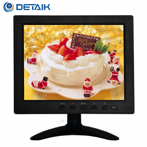 "Small Size 8"" TFT LED VGA USB Touch Monitor Cheap 8 Inch LCD Touch Screen HD PC Monitor"