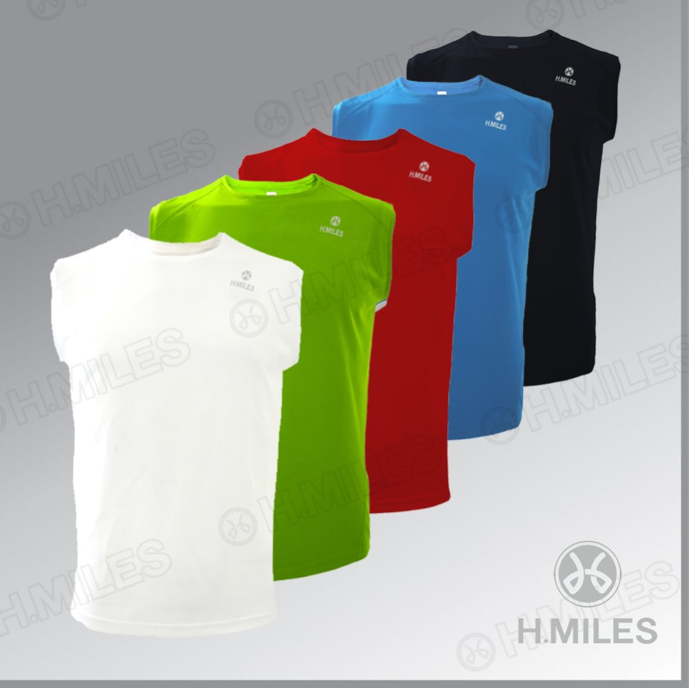 men's gym wear men's sleeveless running t shirt sports wear dri fit shirts wholesale