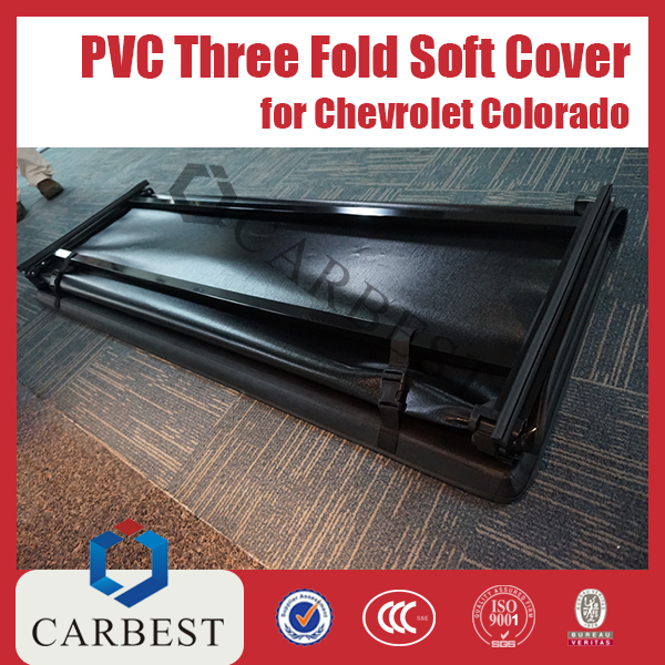 High Quality PVC Three Fold Soft Cover FOR CHEVROLET COLORADO 04-11