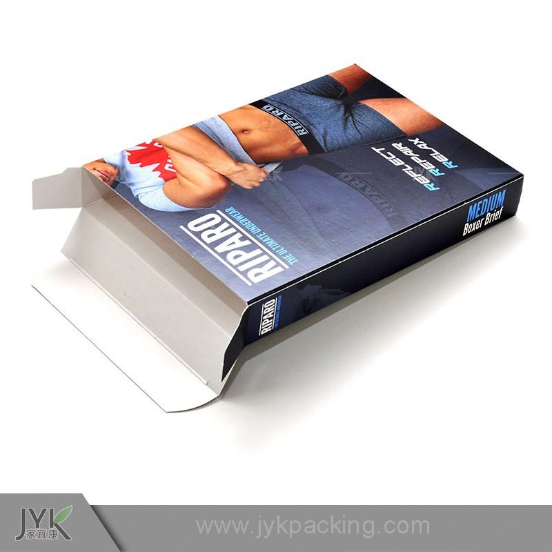 Papel personalizado caja de embalaje de ropa interior for Packaging ropa interior