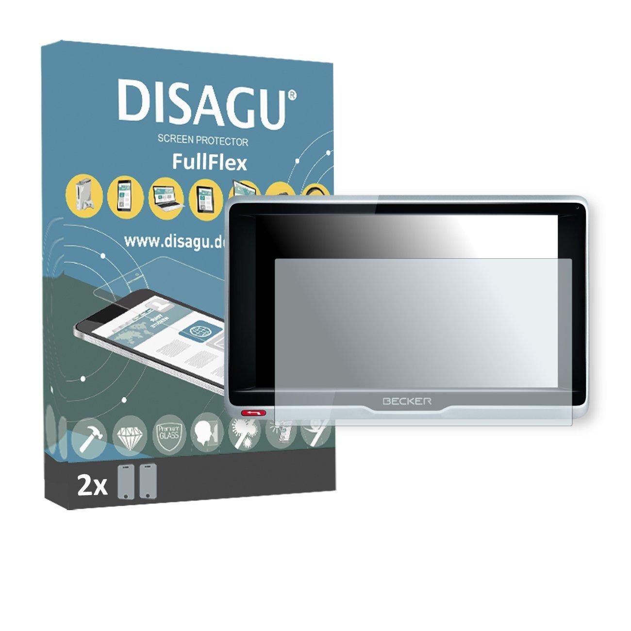 2 x Disagu FullFlex screen protector for Becker Professional.6 LMU foil screen protector