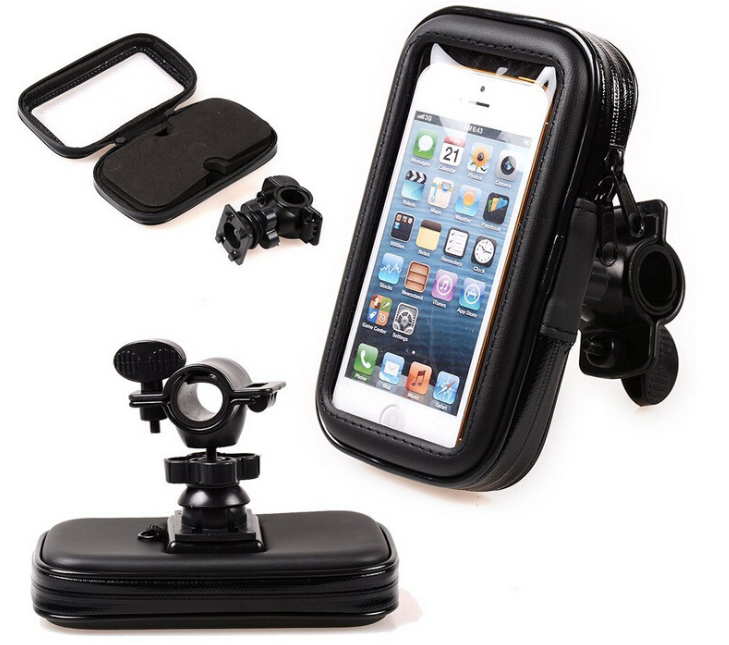 Factory Wholesale Universal 360 Degree Bicycle Bike Waterproof Phone Case Mount Holder For Mobiles
