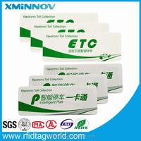 ETC label rfid security identification of windshield sticking
