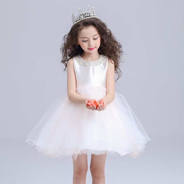 Light Pink Flower Girl font b Dresses b font font b Children b font Princess font