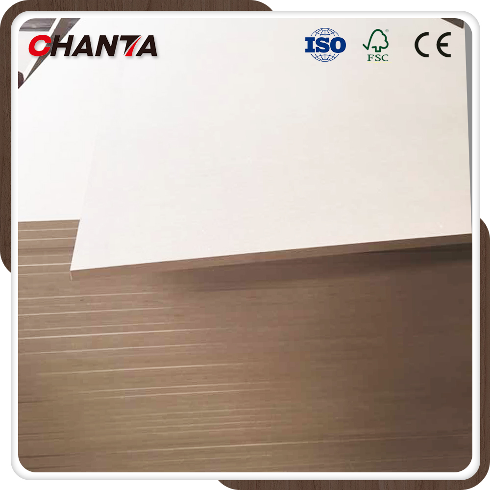 Professional plain mdf board with FSC certificate for furniture making