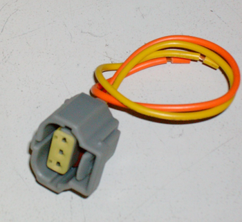 3 Way 2001-2004 Ford Mustang Alternator 2 Wire Plug Harness Clip 4.6 Harness Clip Wiring on trailer wiring clips, electric ford harness clips, safety harness clips,