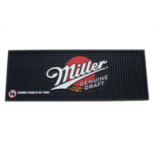 Skidproof PVC bar mat manufacture custom OEM logo Promotion PVC bar mat