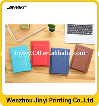 Fantastic leather good quality hard cover notebook with pocket
