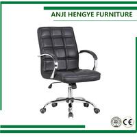 Office furniture ,lifting lie down executive ergonomic luxury back chrome feet synthetic pu leather office chair